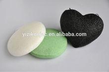 100% natural make-up-puff-shaped vegetable konjac sponge
