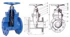 DIN F4 gate valve manufacturer butt weld gate valve