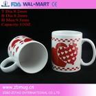 11oz ceramic lipton mug with decal