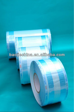 Heat sealing disposable Cosmetic Tool 3D sterilization wrapped reel
