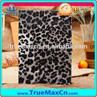 Leopard leather case for iPad mini, for iPad leopard skin case
