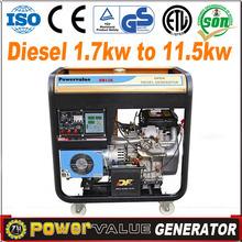 Diesel Generator 2014 8.5kw Diesel Portable Generator For Sale 8.5kva Diesel Power Generator For Home(ZH12000DG)