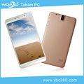 De gama alta de color rosa de tablet pc con llamadas de teléfono 6.95 pulgadas android 4.2 caliente vencer a la apariencia