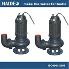 submersible raw sewage pump