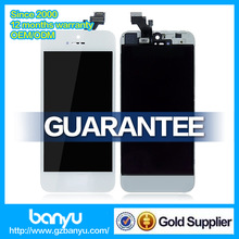 Main board and housing complete lcd professional screen guard for iphone 5