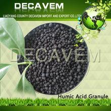 bulk Organic Humic Acid granule fertilizer, humic acid foliar spray, 65% Humic Acid in horticulture