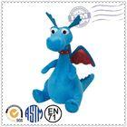 2015 Dragon plush toy wholesale,novelty red dragon plush toy