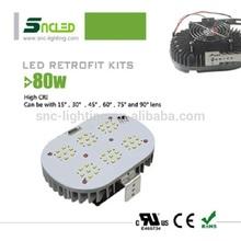 SNC 80w led retrofit kits/ led outdoor wall light/ COB led street light retrofit kit