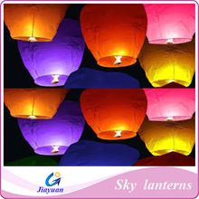Hot decoration and popular sale flying lanterns with high quality, flying lanterns for festival
