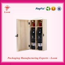Best selling custom wood luxury wine carrier