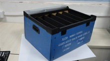 Eco-friendly corfluted plastic container for electronics factory