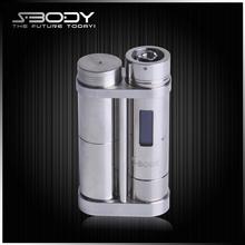 Sbodytech dna square steel tube mod EZDNA electronic cigarette uk good sale accept paypal