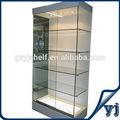 Nuevo diseño de madera quiosco de cosméticos stands/de madera de la pared escaparate de la exhibición/perfumes mdf pantalla