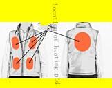 Winter Multicolored Warm li-on Battery Heated Vest