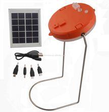 Waterproof solar desk lamp