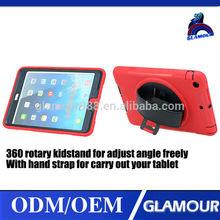 3 in 1 anti-vibration cover for ipad mini,military case for ipad mini.for apple ipad hard case
