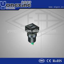 16mm round IP40 piezo buzzer 12V 24V 220V
