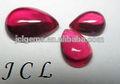anello rubino pera ps 12x14mm 3 aaa in cabina prezzi rubino gemma sciolto