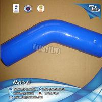 2014 hot sell 45 degree bending 50mm coolant hose