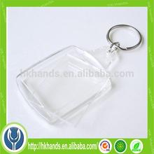 photo frame acrylic blank keychain
