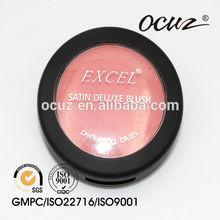 Orange and pink blush lasting nude make-up powder blush