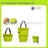 foldable grocery trolley shopping bags with wheels