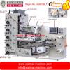 label printing machine with corona, 5 IR dryers, 1 UV dryer, Hot Air dryer, lamination, die cutter, matrix remover, slitter
