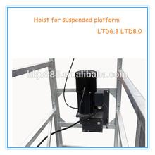 electric rope suspended platform lifting hoist