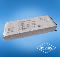 80w 0-10v PWM one channel dimmable constant voltage led driver, led transformer, led power supply