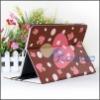 New Cute Mushroom Dot PU Tablet Leather Case For iPad 3 For iPad 2