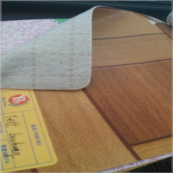 Durable felt backing wood plastic PVC flooring 100% vinyl