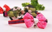 MOQ:400pcs Pet Bow for Dog and Cat in S/M with lots of Designs