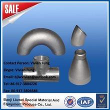 copper nickel 90/10 fittings pipe from baoji liuwei china
