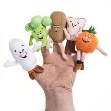 2015 top-quality people hand puppet,cartoon hand puppets toys,push puppets toys