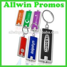 Promotional LED Keychain With Logo/Keychain Flashlight/LED Keychain Lights
