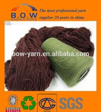 26s ordinary bulk high bulk yarn wool acrylic blend yarn