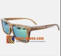 best selling souvenir gift wood craft fashionable zebra wooden frame sunglasses