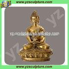 Golden Bronze or Brass Buddha