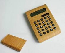 solar powered thin pocket calculator