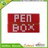 Fashion design silicone pencil box / wholesale pen case