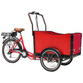 2014 vente chaude tricycle aliments distributeur panier