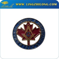 Hot Selling Custom Zinc Alloy Wholesale Masonic Car Emblem Symbols Items