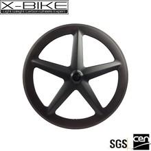 2015 Super professional carbon aero 5 spoke wheel 700c,aero spoke wheel