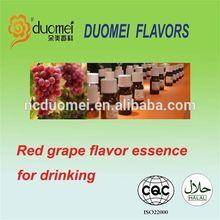 Red grape flavor essence for beverage, beverage essence