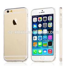 Clear Soft TPU case for iphone 6 case