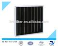 fibra de carbón activado del filtro de aire