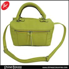 Popular PU green satchel bags