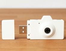 2015 white camera shaped usb flash drive