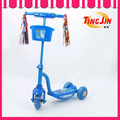 Tj-411 3 roda para bicicleta kick scooter mini