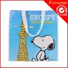 Hot Sale Sky Blue Ikea PE Snoopy Shopping Bag